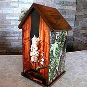 Для дома и интерьера handmade. Livemaster - original item Tea lodge . For tea bags. Handmade.