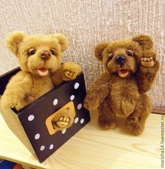 Мишки Тедди ручной работы. Ярмарка Мастеров - ручная работа. Купить мишка тедди Гаврюша. Handmade. Коричневый, медведи