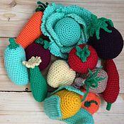 Куклы и игрушки ручной работы. Ярмарка Мастеров - ручная работа вязаные овощи. Handmade.