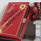 """Сумки и аксессуары handmade. Livemaster - original item Клатч-книга """"Монте-Кристо"""". Handmade."""