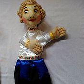 Куклы и игрушки handmade. Livemaster - original item Ivan Tsarevich. glove puppets.. Handmade.