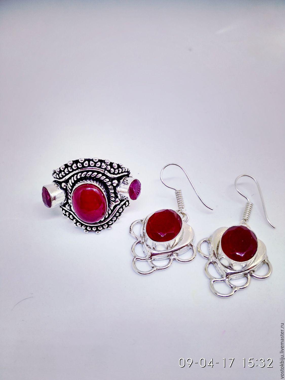 ae07fb49ac85 Комплекты украшений ручной работы.  Рубины Синдбада  комплект. елена  (vostokbiju).
