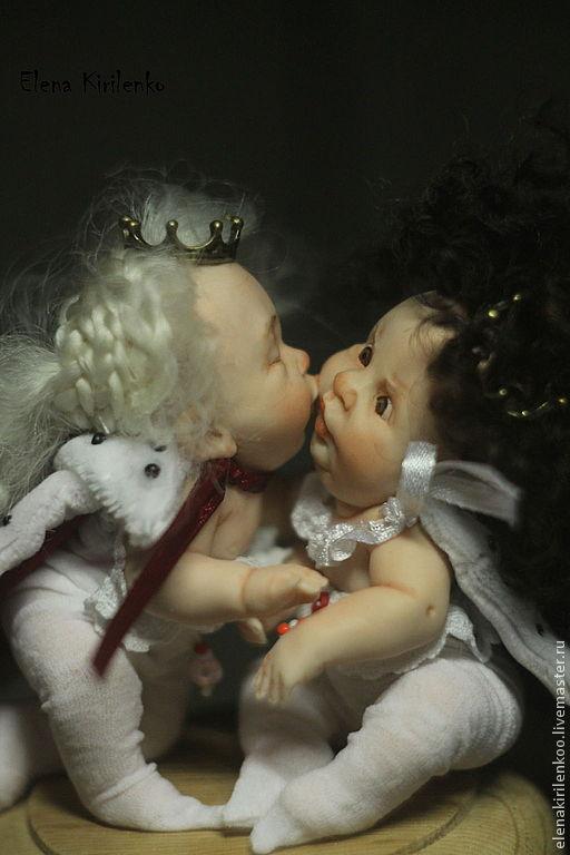 """Коллекционные куклы ручной работы. Ярмарка Мастеров - ручная работа. Купить """"Признание"""". Handmade. Ярко-красный, living doll"""