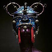 Одежда handmade. Livemaster - original item Exclusive handmade Samurai Demon mask. Handmade.