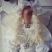 Куклы и игрушки ручной работы. Ярмарка Мастеров - ручная работа Тильда Ангел на крещение.. Handmade.