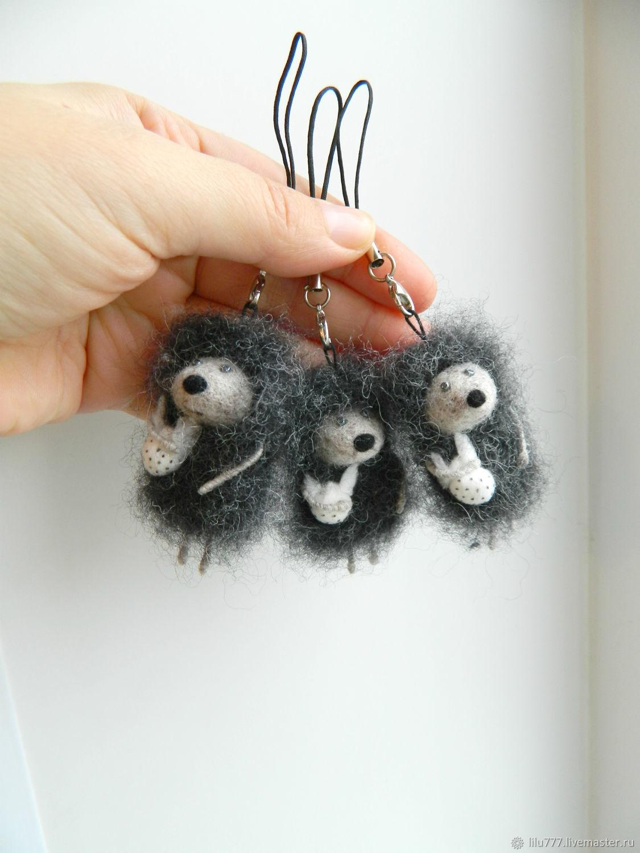 Keychain 'Hedgehog in the fog' hedgehog hedgehogs, Key chain, Ufa,  Фото №1