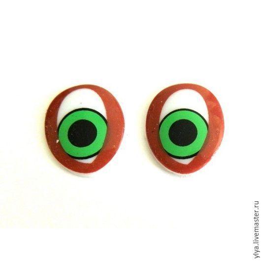 Куклы и игрушки ручной работы. Ярмарка Мастеров - ручная работа. Купить Глазки  для игрушек,фофучи.. Handmade. Коричневый, Глаза