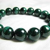 Украшения handmade. Livemaster - original item Bracelet malachite