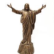 Статуэтки ручной работы. Ярмарка Мастеров - ручная работа Статуэтка Иисус. Handmade.