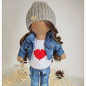 Куклы и игрушки handmade. Livemaster - original item Fabric doll Monica. Handmade.