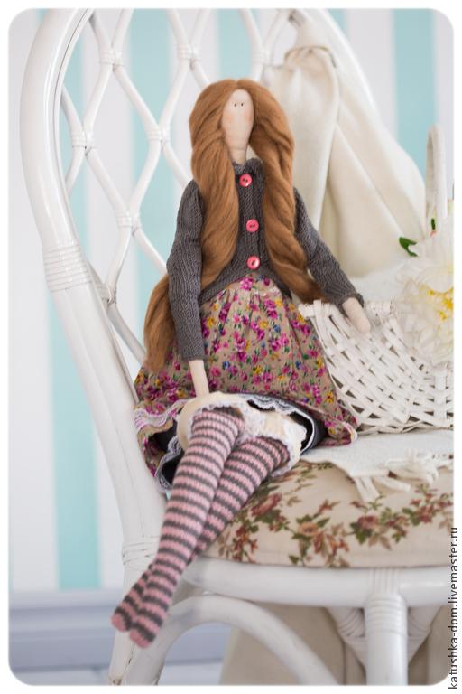 Куклы Тильды ручной работы. Ярмарка Мастеров - ручная работа. Купить Кукла Тильда Красотка Грюня. Handmade. лен, лён