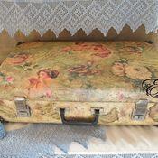 Сумки и аксессуары handmade. Livemaster - original item suitcase.. Grandma`s childhood... Handmade.