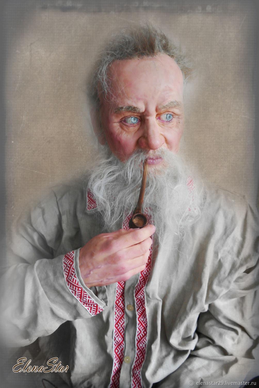 ПАВЕЛ ПЕТРОВИЧ БАЖОВ, кукла сделана для музея, Портретная кукла, Киров,  Фото №1