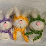 Куклы и игрушки ручной работы. Ярмарка Мастеров - ручная работа Позитивный заяц. Handmade.
