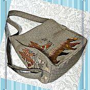 Сумки и аксессуары handmade. Livemaster - original item Bag-Backpack