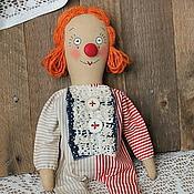 Куклы и игрушки ручной работы. Ярмарка Мастеров - ручная работа Кукла Клоунесса.. Handmade.