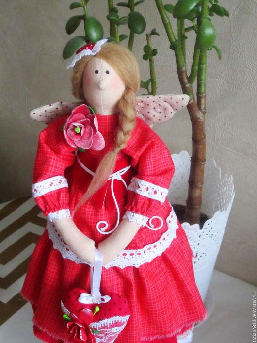 Куклы Тильды ручной работы. Ярмарка Мастеров - ручная работа. Купить Ангел тильда. Handmade. Ангел, кукла ручной работы