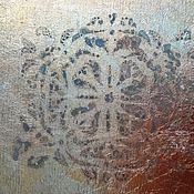 Дизайн и реклама handmade. Livemaster - original item Gilding with gold leaf etching gilding vintage style. Handmade.