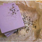 """Мыло ручной работы. Ярмарка Мастеров - ручная работа 1шт Натуральное мыло """"Лаванда"""". Handmade."""