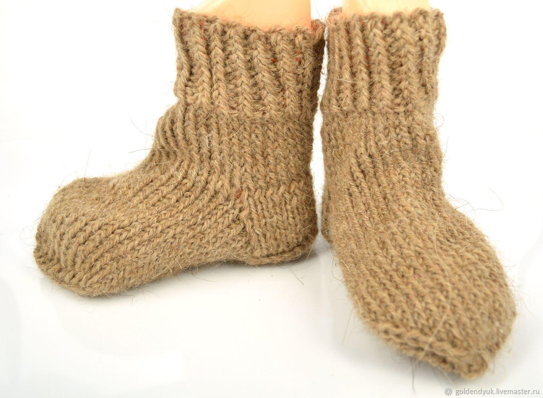 Детские носки из верблюжьей шерсти, Носки, Москва,  Фото №1