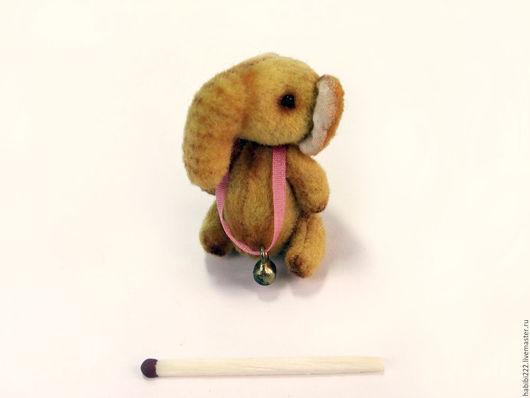 Мишки Тедди ручной работы. Ярмарка Мастеров - ручная работа. Купить Слон Бони. Handmade. Желтый, Новый Год
