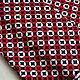 Шитье ручной работы. Ткань хлопок Круги ( красно-черные). HobbyMarket (ткани). Интернет-магазин Ярмарка Мастеров.