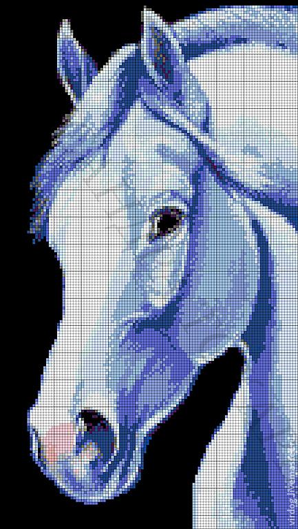 """Вышивка ручной работы. Ярмарка Мастеров - ручная работа. Купить Набор для вышивки бисером """"Лошадь"""" Артикул: 19-0706-НЛ. Handmade."""