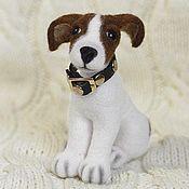 Куклы и игрушки handmade. Livemaster - original item Felted toy Jack Russell Terrier. Handmade.
