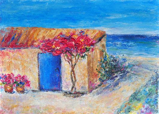 картина с морем, живопись маслом , картина для интерьера, картина в подарок, живопись пейзаж, картина пейзаж, картина морской пейзаж,