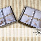 Аксессуары handmade. Livemaster - original item Handkerchiefs, embroidered Personalized Gift. Handmade.