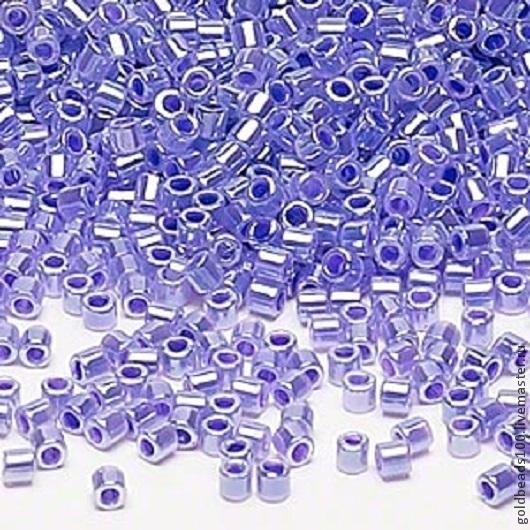 Для украшений ручной работы. Ярмарка Мастеров - ручная работа. Купить MIYUKI DELICA 8/0 DBL 249 ceylon color-lined violet 10gr. Handmade.