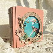 Фотоальбомы ручной работы. Ярмарка Мастеров - ручная работа Фотоальбом в морском стиле. Handmade.
