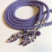 Украшения handmade. Livemaster - original item Lariat of beads