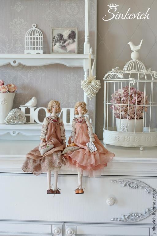 Куклы Тильды ручной работы. Ярмарка Мастеров - ручная работа. Купить Джейн и Гретта. Handmade. Тильда, для уюта