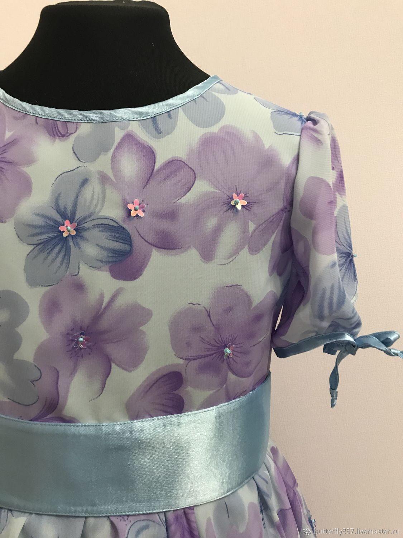 Платье « Весенняя акварель»