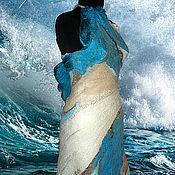 """Одежда ручной работы. Ярмарка Мастеров - ручная работа Платье   """"Окунаясь в пену волн"""". Handmade."""