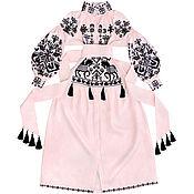 "Одежда handmade. Livemaster - original item Pink dress ""Arabian horseman"". Handmade."