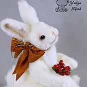 Куклы и игрушки ручной работы. Ярмарка Мастеров - ручная работа Топотун... весьма упитанный кролик. Handmade.