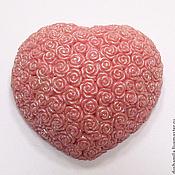 Мыло ручной работы. Ярмарка Мастеров - ручная работа Мыло Сердце из роз. Handmade.