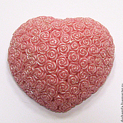 Косметика ручной работы handmade. Livemaster - original item Soap Heart of roses. Handmade.