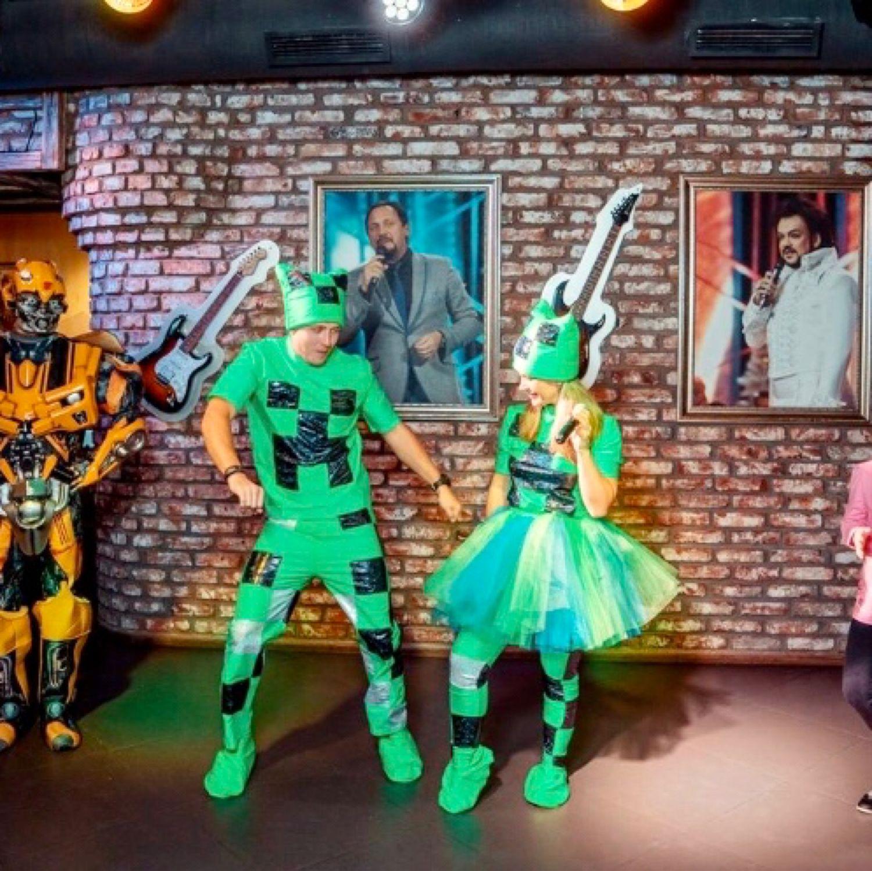 костюм для майнкрафт девочкам #8