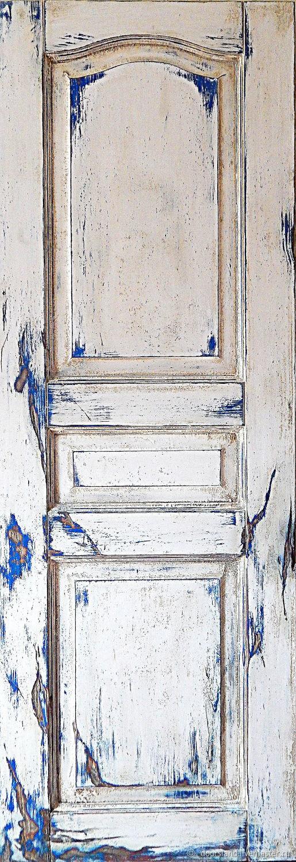 Винтажная дверь Белый мрамор, Двери, Санкт-Петербург,  Фото №1