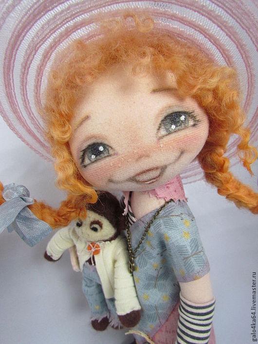 Коллекционные куклы ручной работы. Ярмарка Мастеров - ручная работа. Купить ПЕППИ кукла. Handmade. Интерьерная кукла, Астрид Линдгрен