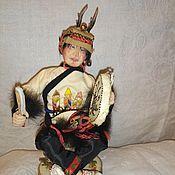 """Народная кукла ручной работы. Ярмарка Мастеров - ручная работа Народная кукла: """"Саман"""",. Handmade."""