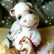 Куклы и игрушки ручной работы. Ярмарка Мастеров - ручная работа Бегемотик Энни. Handmade.