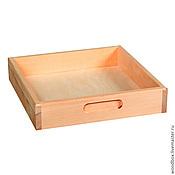 Материалы для творчества handmade. Livemaster - original item H29296 square array Tray 29 29 6 cm.. Handmade.