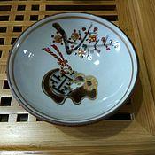 Кружки винтажные ручной работы. Ярмарка Мастеров - ручная работа Японская пиала 80-х годов. Handmade.