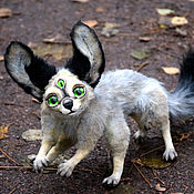 Куклы и игрушки ручной работы. Ярмарка Мастеров - ручная работа Полтора маленького кота. Handmade.