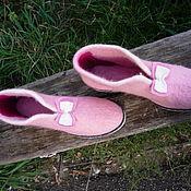Обувь ручной работы handmade. Livemaster - original item Ankle felted
