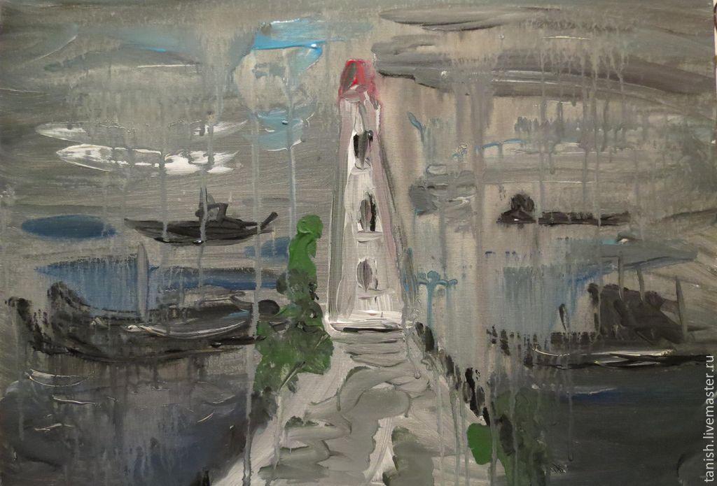 санкт-петербург, дождь